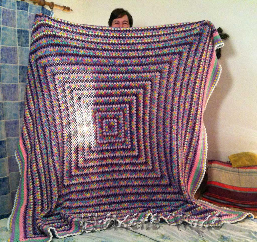 Finished my hippie blanket! by Sheeeva on DeviantArt