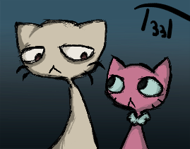 Cats by Ender101theartist