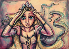 I'm the lost Princess by airyfairyamy