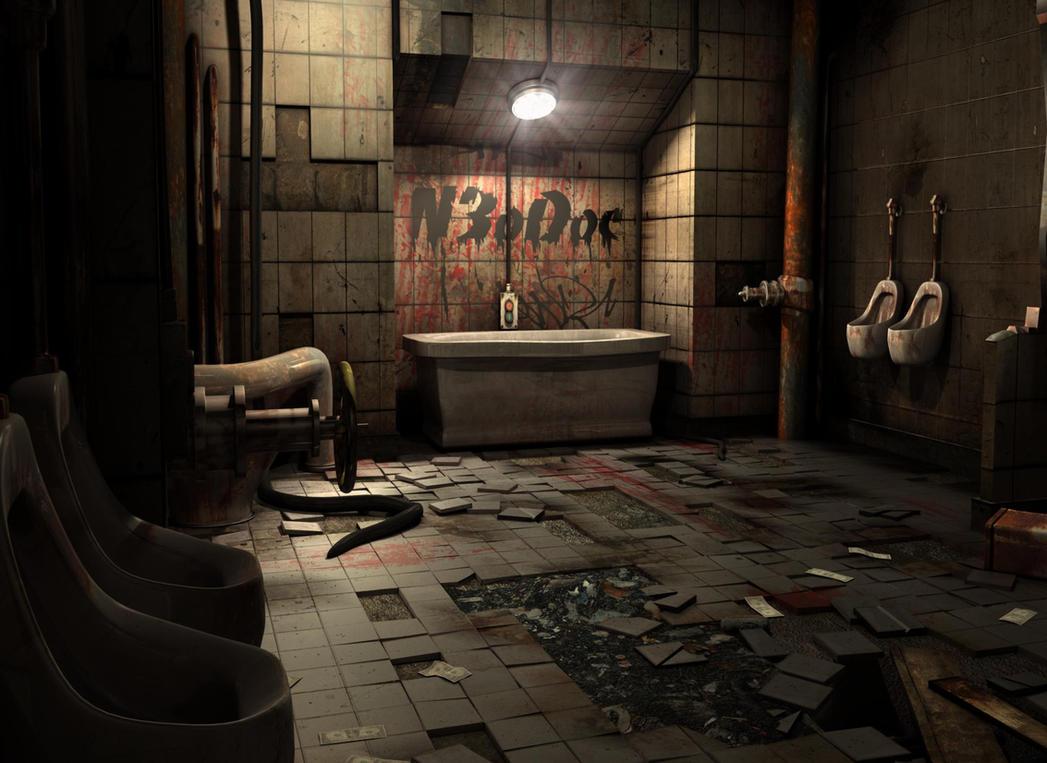 Dirty Bathroom3 By N3odoc On Deviantart