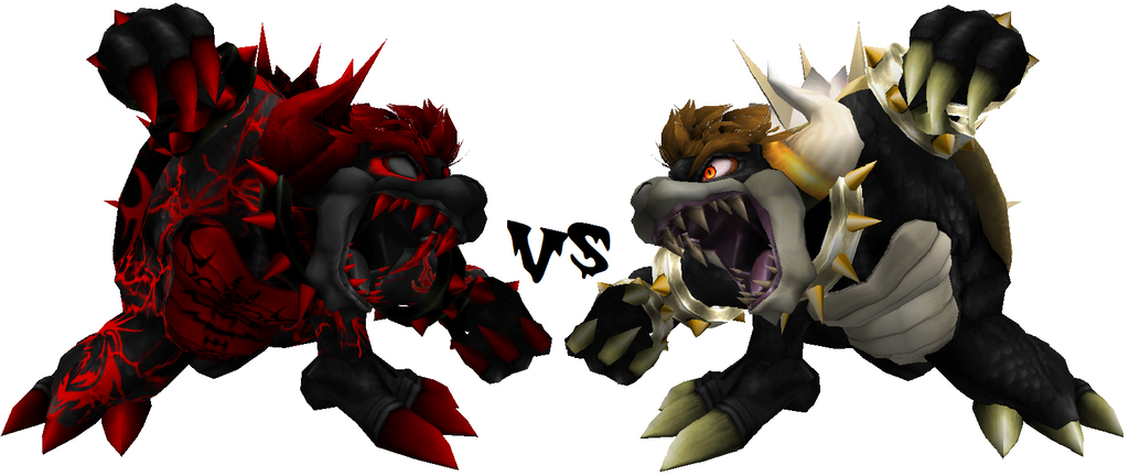 Pure Evil Giga Bowser vs Asended Giga Bowser by zoid162010 ...