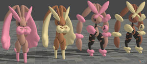 XPS Pokemon ORAS Lopunny by zoid162010