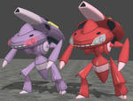 XPS Pokemon X and Y Genesect by zoid162010
