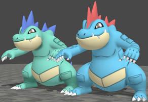 XPS Pokemon X and Y Feraligatr by zoid162010