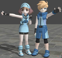 XPS Pokemon Sun and Moon Ace Trainers by zoid162010
