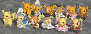 XPS Pokemon ORAS Cosplay Pikachu by zoid162010