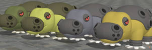 XPS Pokemon X and Y Hippowdon by zoid162010