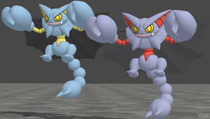 XPS Pokemon X and Y Gliscor by zoid162010