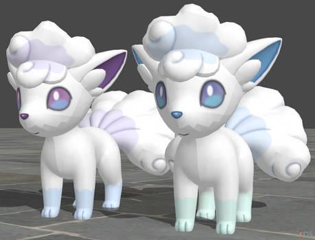 XPS Pokemon Sun and Moon Alolan Vulpix