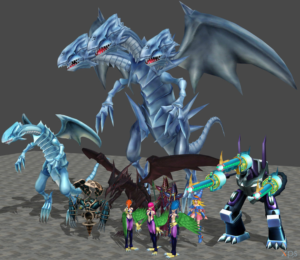 XPS Yugioh Monsters Pack by zoid162010 on DeviantArt