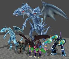 XPS Yugioh Monsters Pack by zoid162010