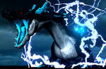 Abyassl Lagiacrus Charging Up by zoid162010