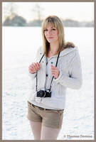 The snow Photographer by LeThoumy