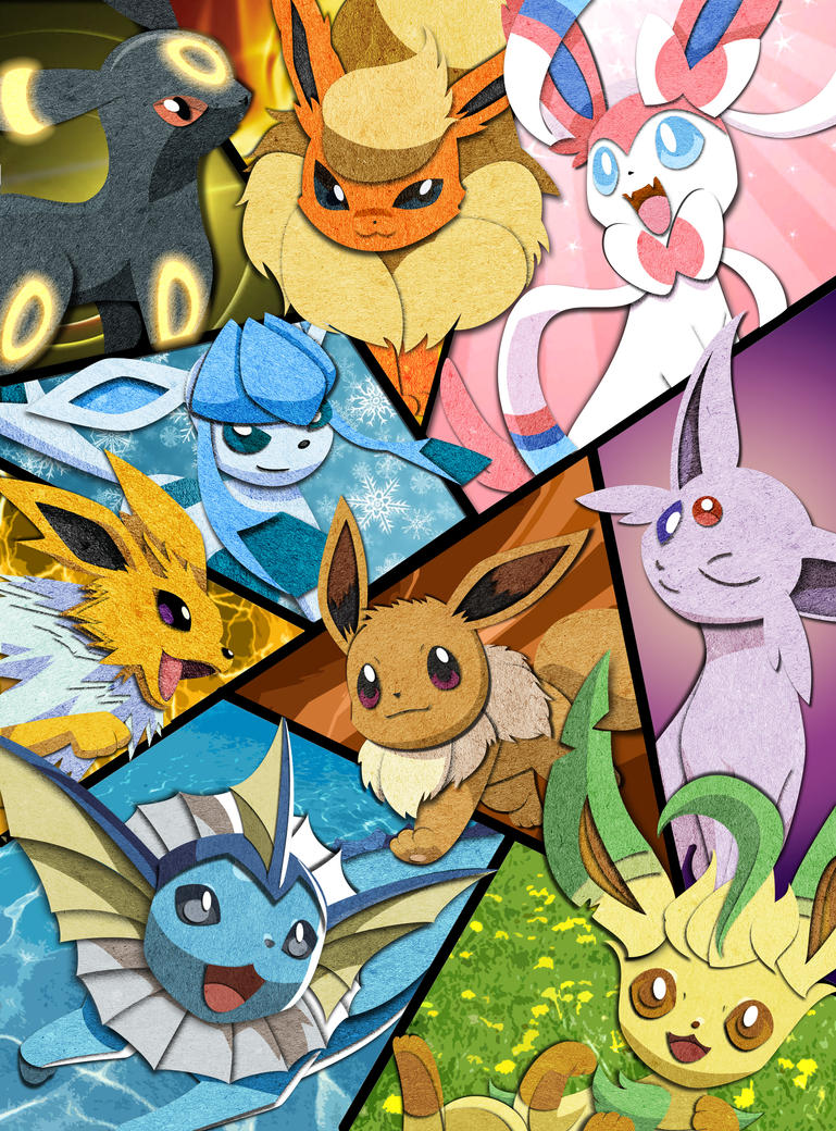Eeveelution | Pokemon by CAraracap