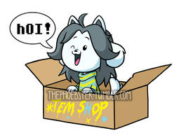 Temmie Sticker