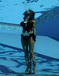 Wonder Woman Water Peril by thejpeger