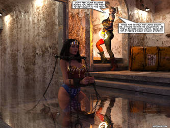 Wonder Woman Sewer Trap by thejpeger