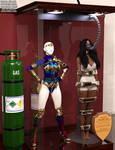 Yara Flor Wonder Girl Trophy Case