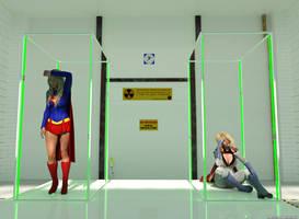 Kryptonians in detention