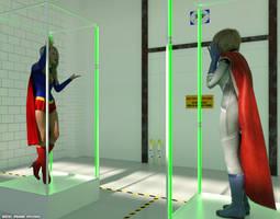 Kryptonians in detention (Ver 1)