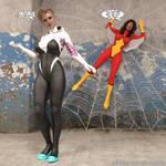 SpyderGwen and SpyderWoman Return Summer 2021 by thejpeger