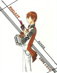 Duelist Asher by SakuraSadameWingz
