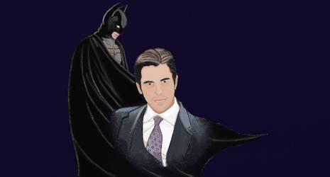 Bruce Wayne - Batman by leMakke