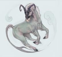 [Zodiac horse] Capricorn by Stigerea