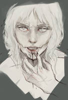 [sketch] Hunger by Stigerea