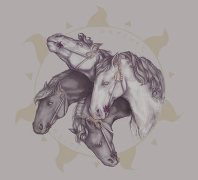 Horses of Helios by Stigerea