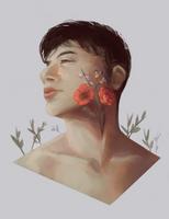 Portrait of a friend by Stigerea
