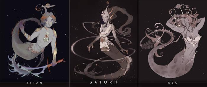 Space Mermays - Saturn