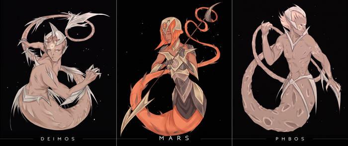 Space Mermay - Mars