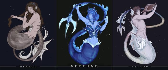 Space Mermay - Neptune