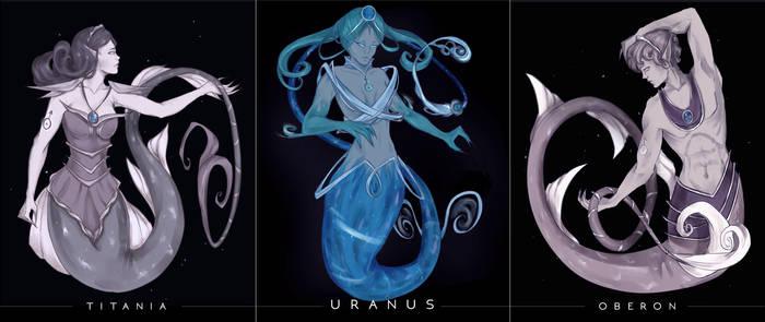 Space Mermay - Uranus