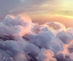 Morning clouds