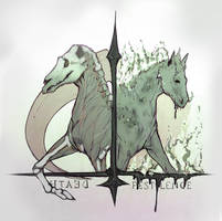 Death and Pestilence - Horses of Apocalypse