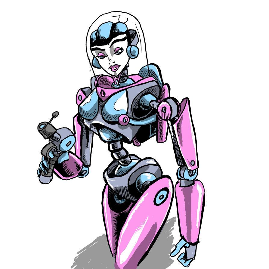 Robo Girl by foolsmask