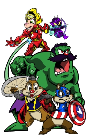 Rescue Avengers For Print by foolsmask
