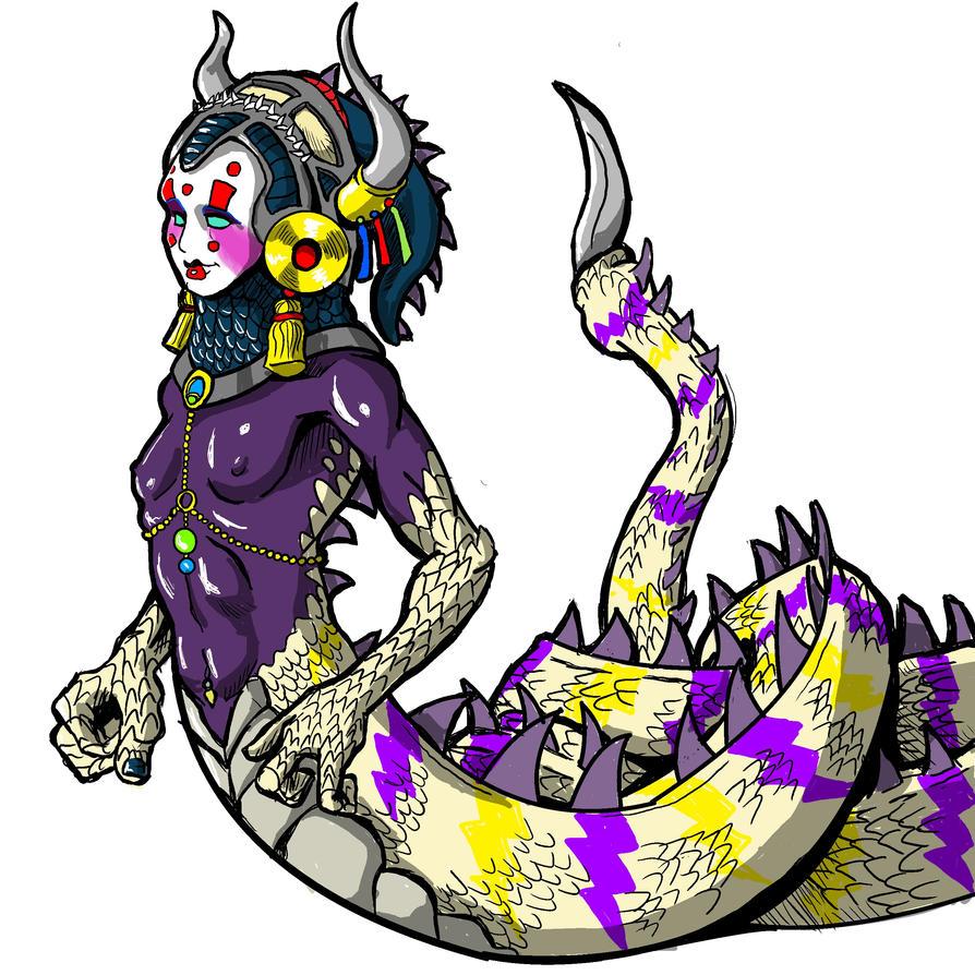 Ziesra, the Eidolon by foolsmask