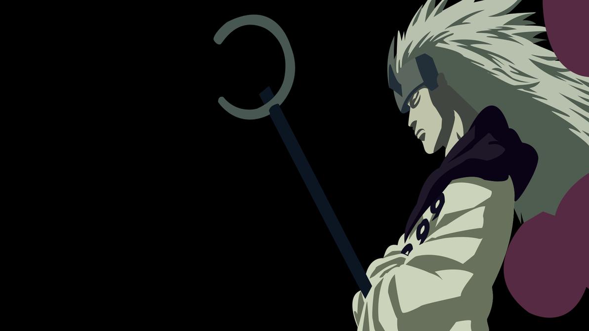 Best Wallpaper Naruto Minimalistic - madara_uchiha__naruto____minimalist_wallpaper_by_articartwork-d9w6soq  HD_275322.png
