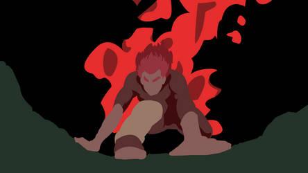 Night Guy (Naruto) - Minimalist Wallpaper