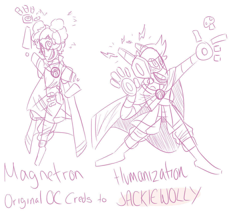 Magnetron Humanization - Sketches by Darkwizardsethlet
