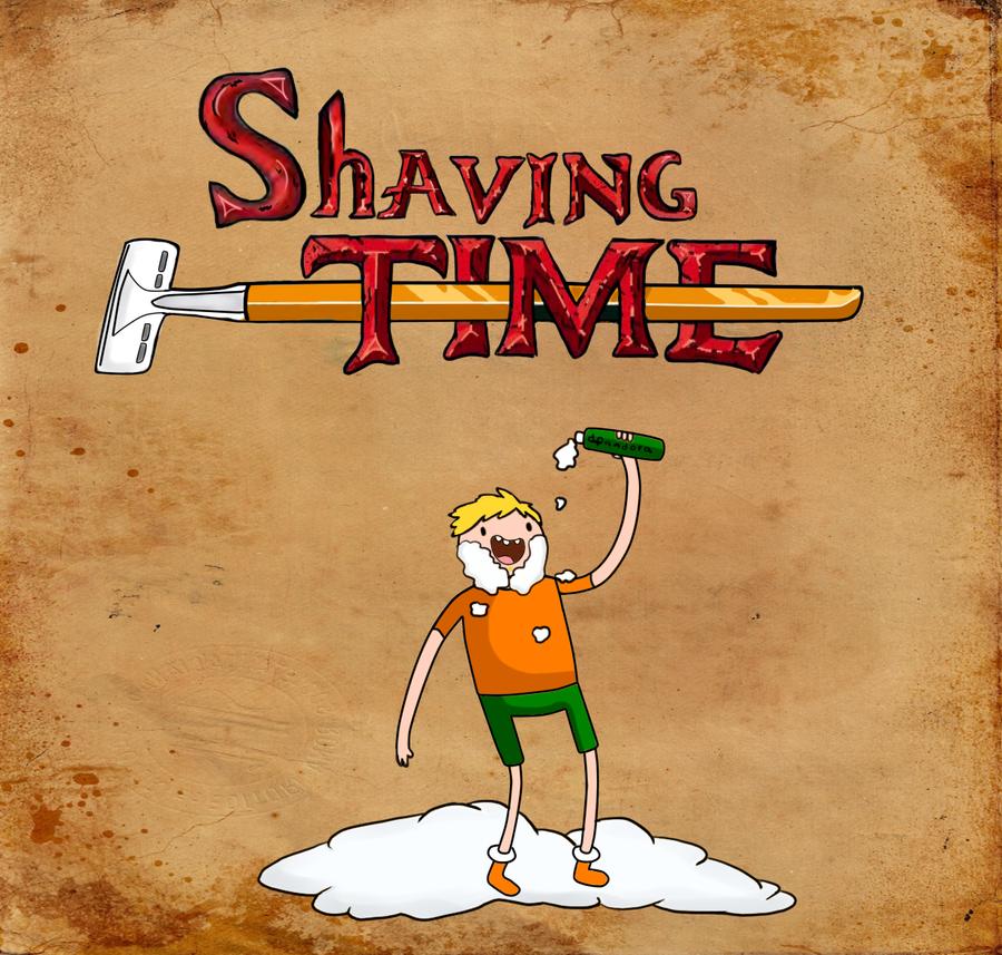 Shaving time! by DariaPandora