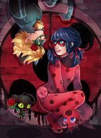 Miraculous Ladybug by octopifer