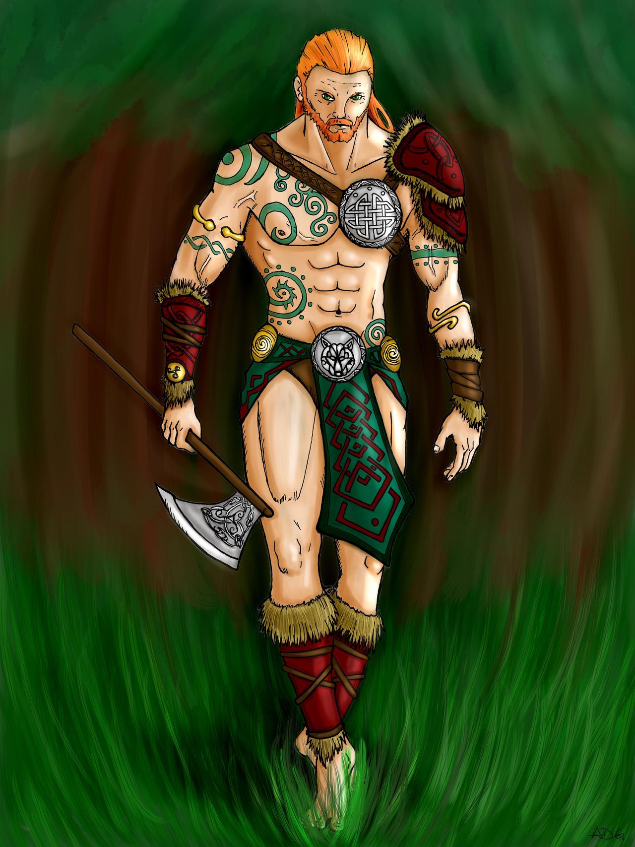 Celtic women warriors nude hentai video