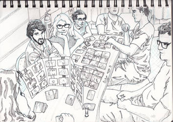 Board Games Night by RoflHarris