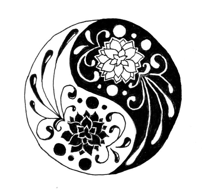 Lotus Yin Yang By The Fattness On Deviantart