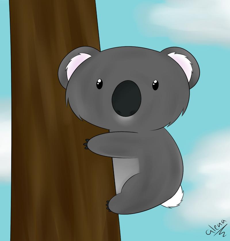 Koala tail - photo#25