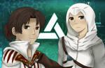 Ezio and Altair